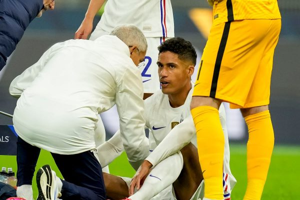 Manchester United will have to wait and see for Raphael Varane. He was injured in the last international match